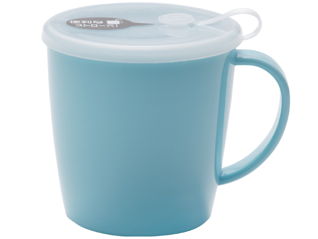 G&B フタ付きマグカップ ブルー