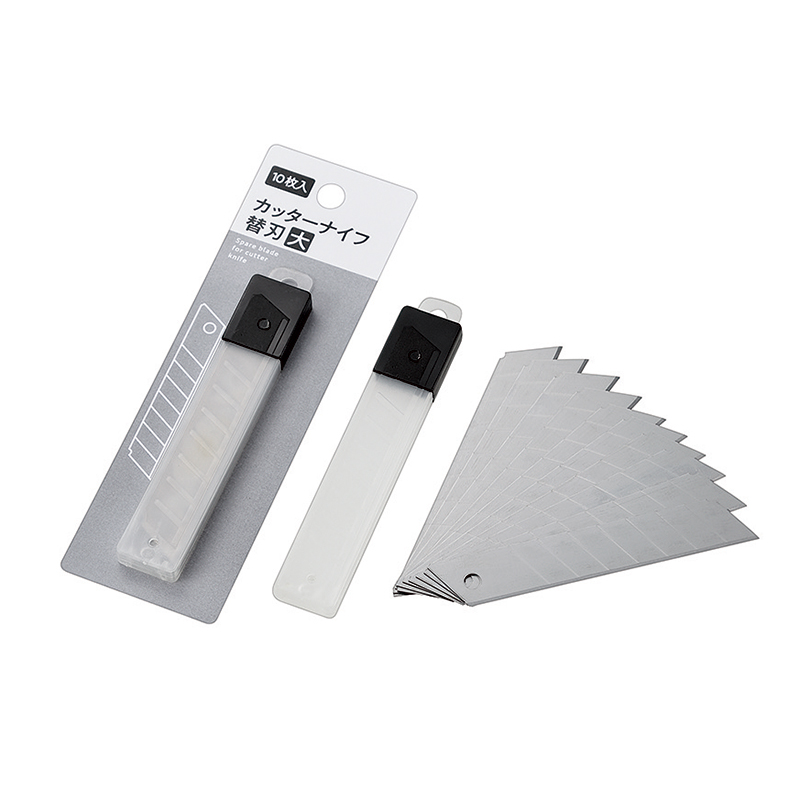 カッターナイフ用替刃(大)10枚入