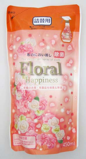 布のにおい消し フローラルの香り 詰替え用