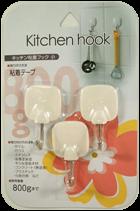 キッチン粘着フック(小)