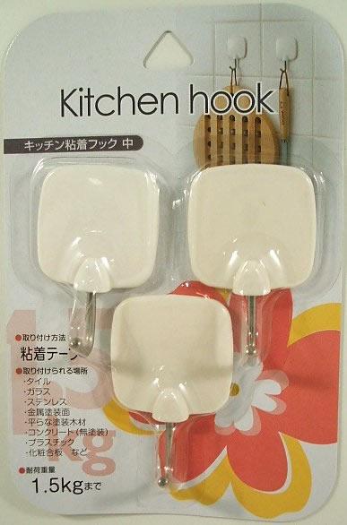 キッチン粘着フック(中)