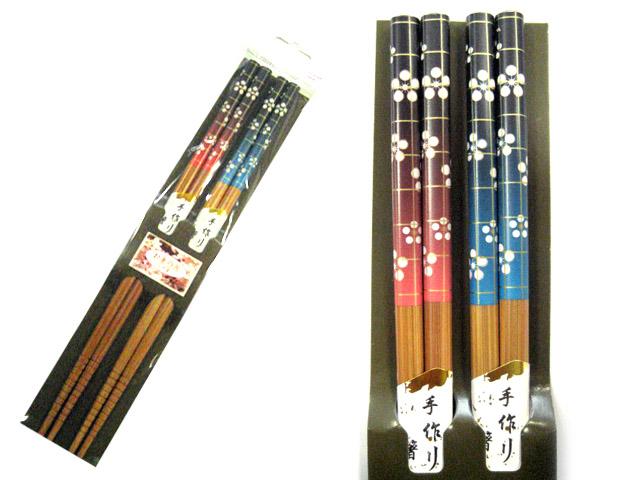 お箸の国ペア箸2膳 梅