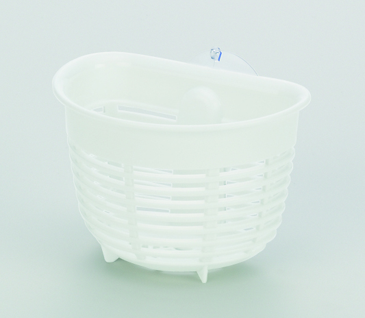 フロースポンジポケット(吸盤付) ホワイト