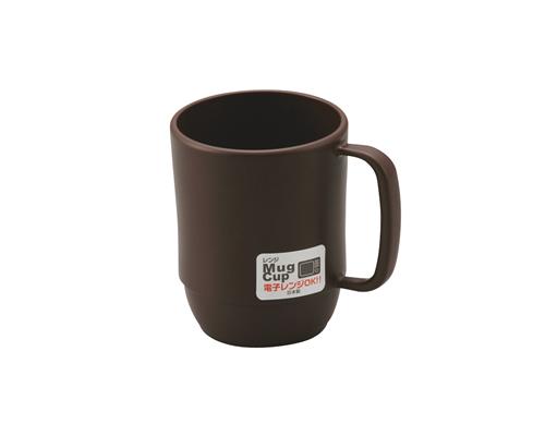 レンジマグカップ  ブラウン