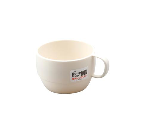 レンジスープカップ  アイボリー