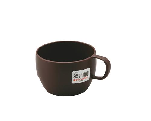 レンジスープカップ  ブラウン