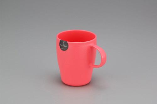 フォリオ 手付きマグ ピンク