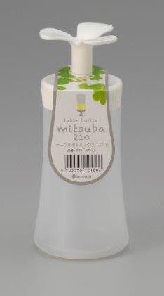テーブルボトル ミツバ 210 ホワイト