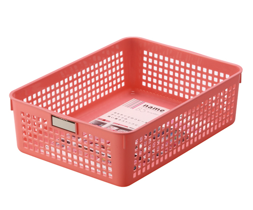 ネームバスケット B5  ピンク