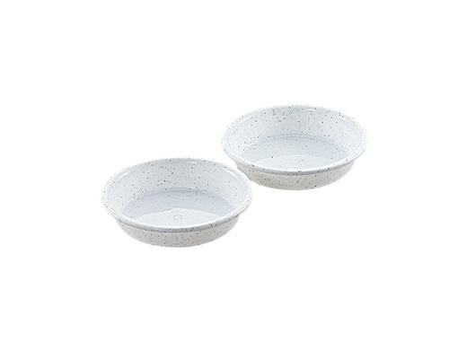鉢受皿 4号 2P  ミカゲホワイト