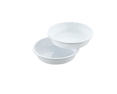 鉢受皿 5号 2P  ミカゲホワイト
