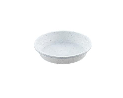 鉢受皿 6号  ミカゲホワイト