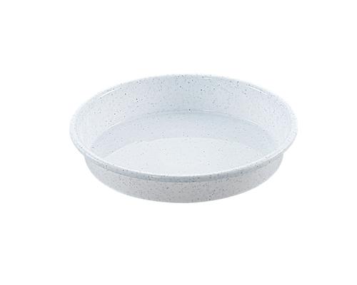 鉢受皿 8号  ミカゲホワイト