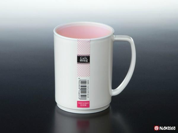 カフェマグ ピンク