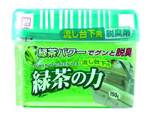 緑茶の力 流し台下用脱臭剤 150g