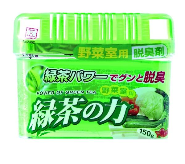 緑茶の力 野菜室用脱臭剤 150g