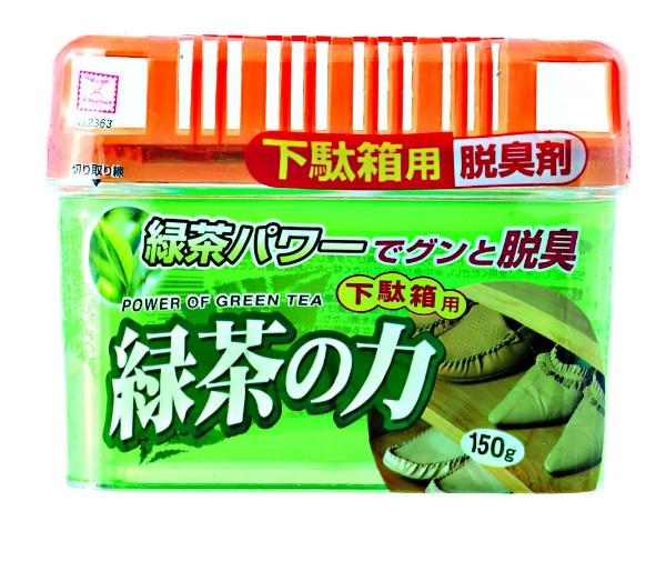 緑茶の力 下駄箱用脱臭剤 150g