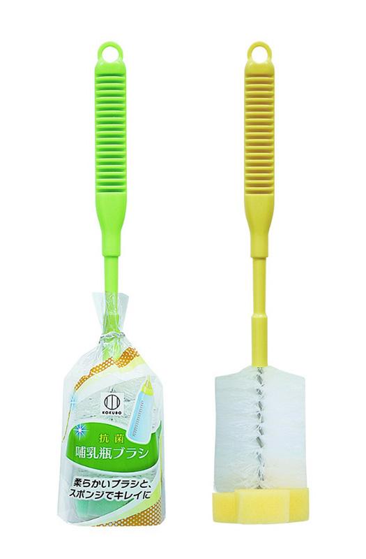 抗菌哺乳瓶ブラシ