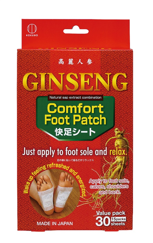 Comfort Foot Patch GINSENG