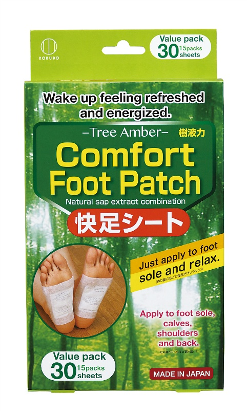 Comfort Foot Patch Tree Amber