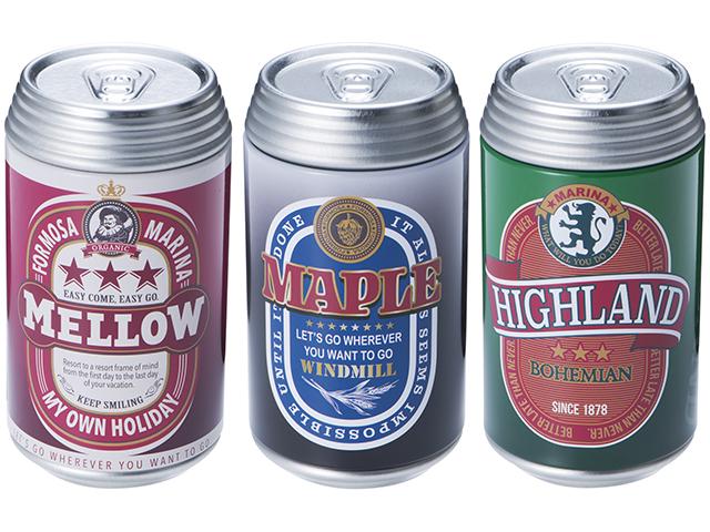 ブリック ビール缶