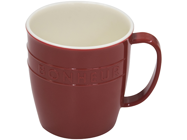 ボヌール マグカップ レッド
