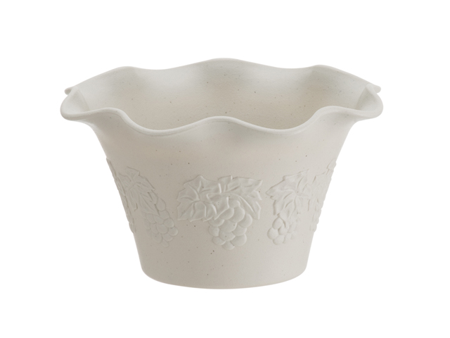 ビオラ花型 ホワイト