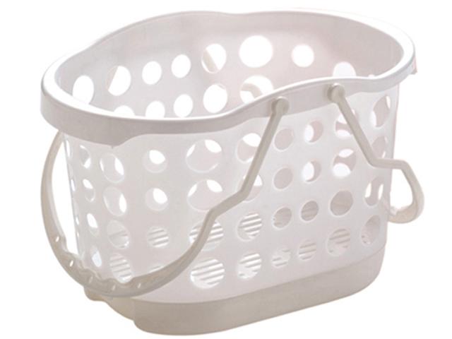 angee お風呂バスケット ホワイト