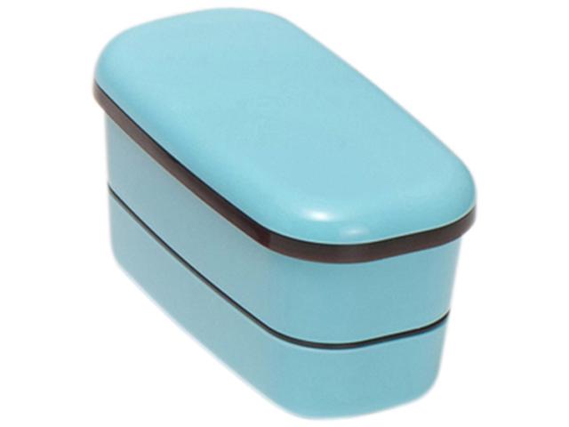 G&B 2段ランチボックス ブルー