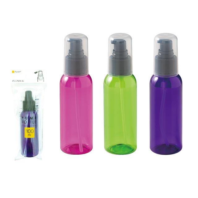 カラーポンプボトル/100ml