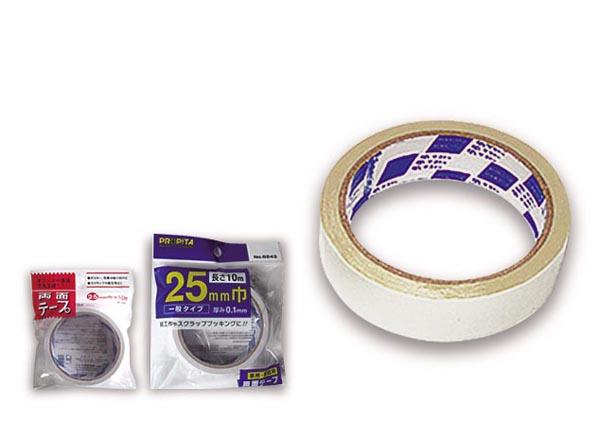 両面テープ25mm巾×10m