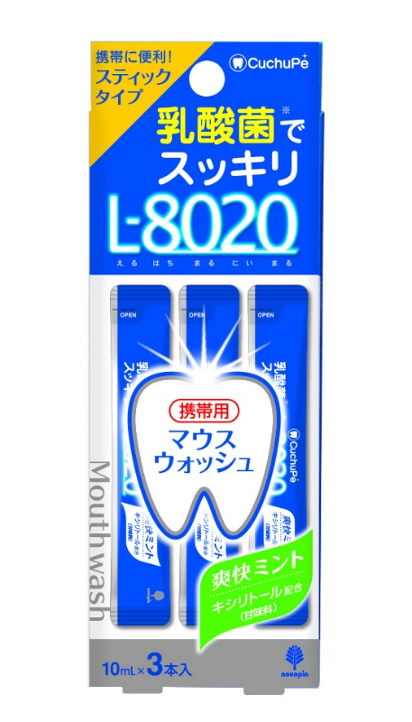 クチュッペL-8020 爽快ミント スティックタイプ3本入(アルコ-ル)