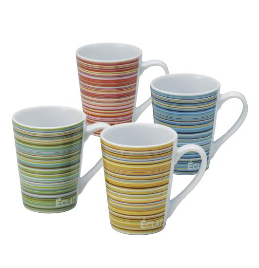 ヘアーラインマグカップ(陶器)
