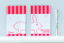 クリアバック(ウサギ)SS 10P