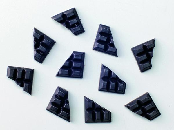 デコパーツチョコレート(6P)