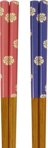 竹箸 先角なでしこ 22.5cm