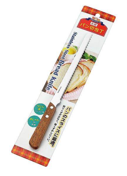 木柄パン切包丁