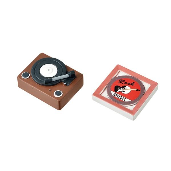 インテリアオブジェ(レコードプレーヤー・レコード盤)