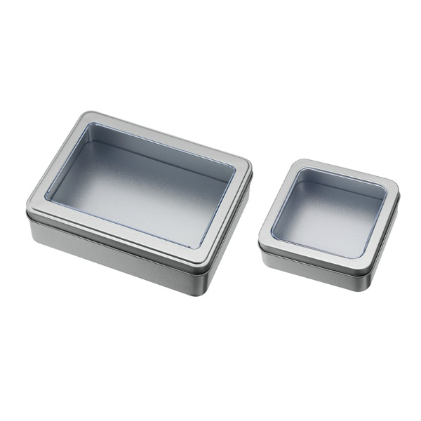 窓付きブリキ容器(2種類アソート)