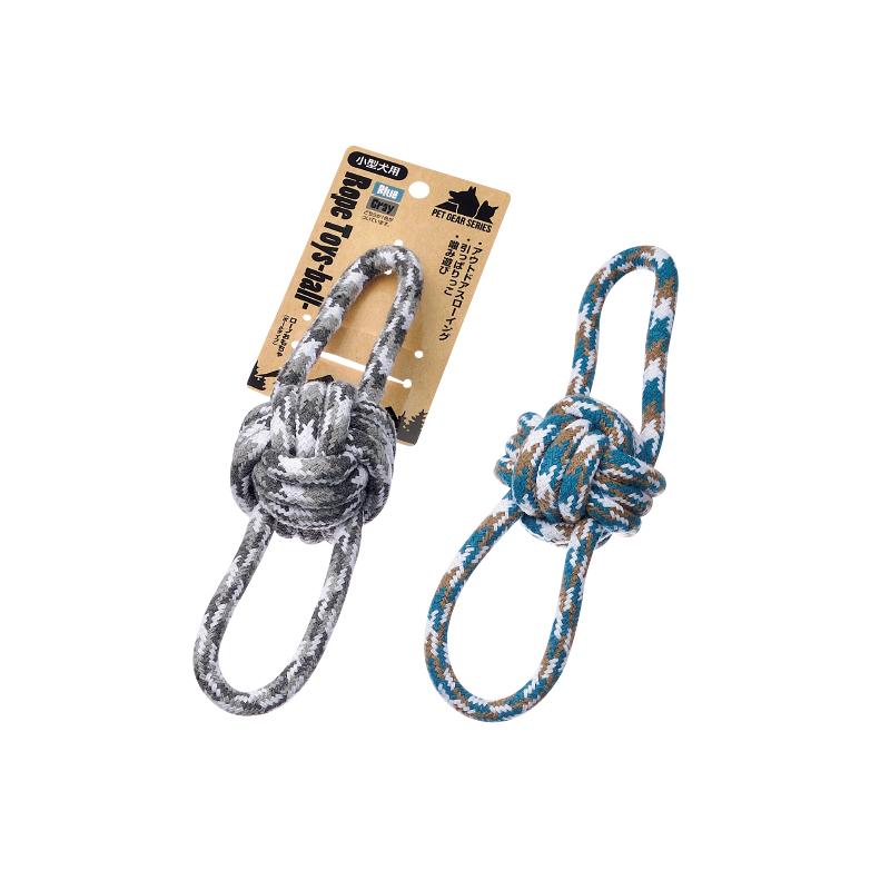 ロープおもちゃ(ボールタイプ)